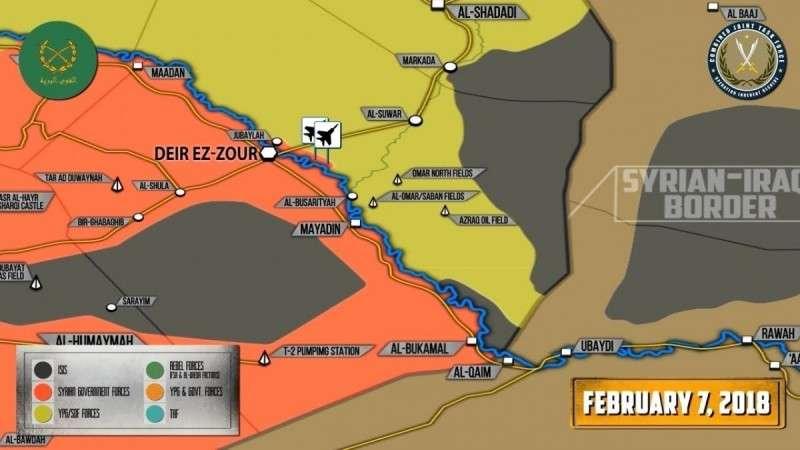 Сирия. США и их наёмники разбомбили позиции сирийской армии