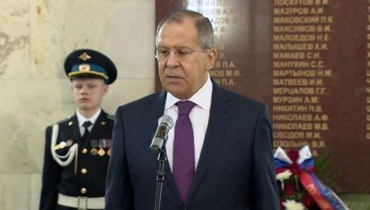 Сергей Лавров почтил память русских дипломатов, погибших в борьбе за интересы России