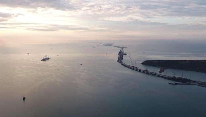 Железнодорожная часть Крымского моста готова более чем на 50%