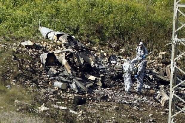 Сбитый F-16 израильских террористов – большой шаг к большой войне