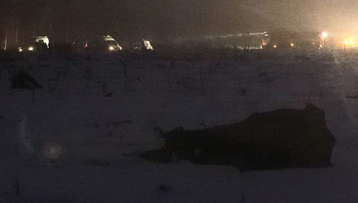 Крушению Ан-148 в Подмосковье предшествовал мощный хлопок