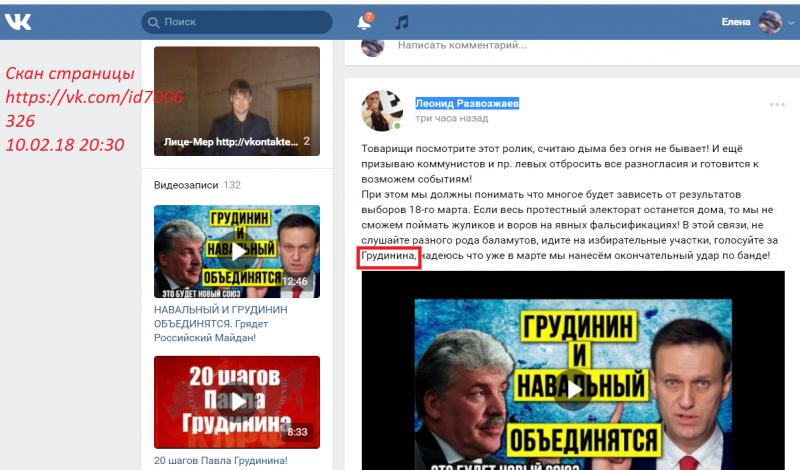 В России идет полным ходом подготовка к Майдану. Действующие лица второго плана