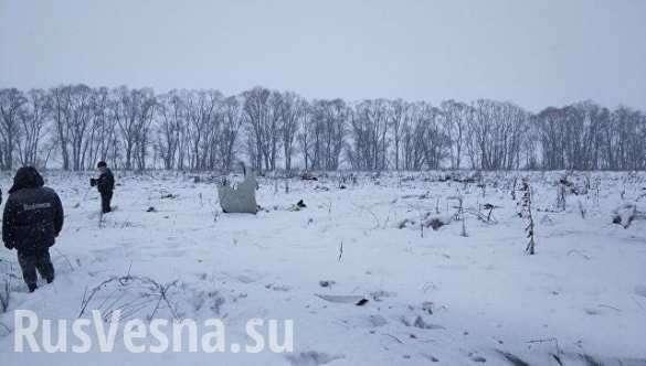 Авиакатастрофа Ан-148: предварительные версии | Русская весна