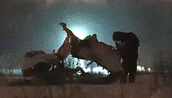 Ан-148 взорвался после падения, – заявил официальный представитель Следственного комитета
