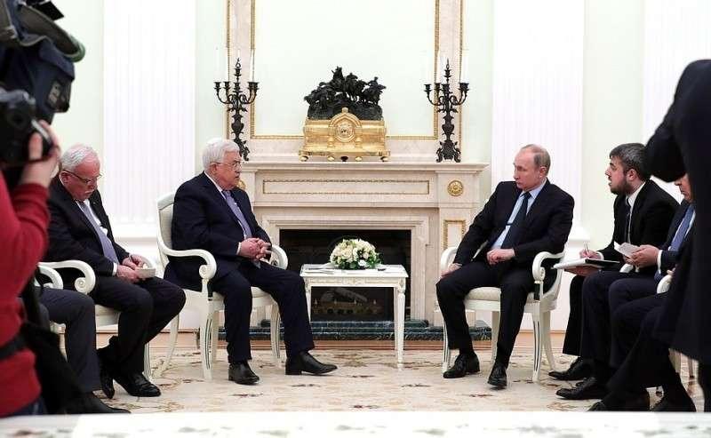 Встреча сПрезидентом Палестины Махмудом Аббасом.