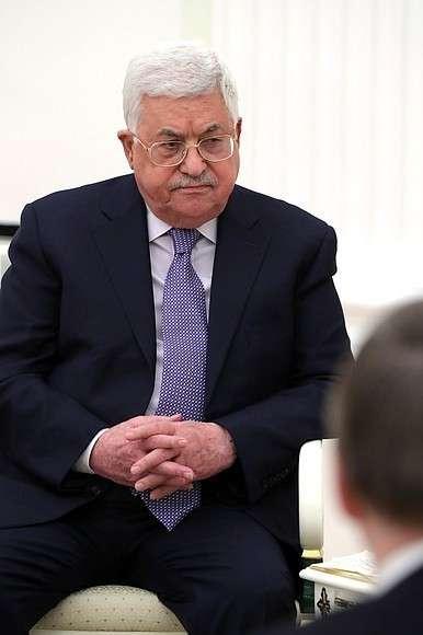 Президент Палестины Махмуд Аббас.