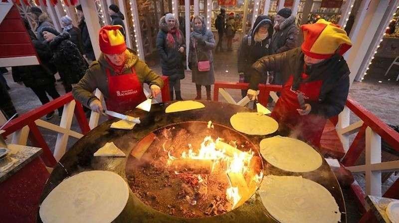 Масленичный пир пройдет в московском парке «Зарядье» 18 февраля