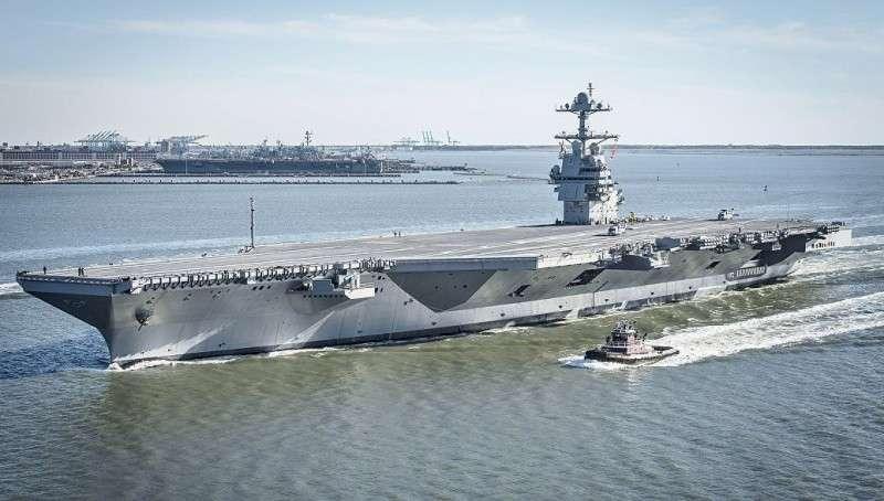 Чем угрожает России американский новейший авианосец Джеральд Форд?