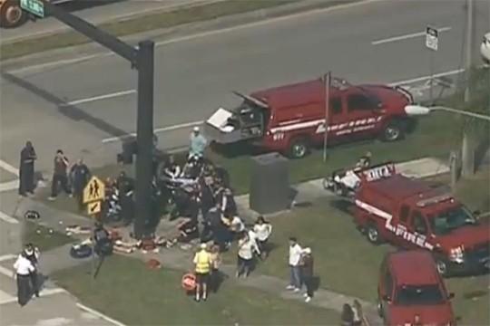 Стрельба в школе США: пострадали более 20 человек