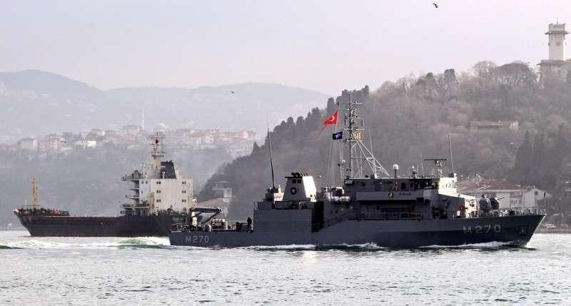 Сирийский экспресс: рандеву с британцем в Босфорском проливе