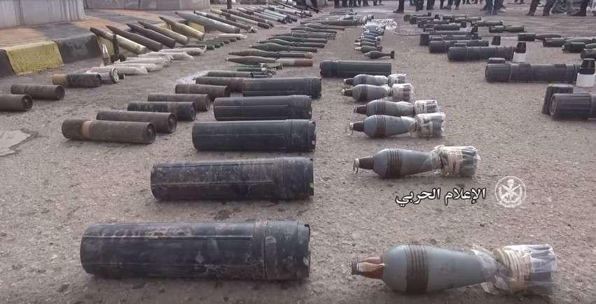 В Сирии обнаружен склад американских наёмников с израильскими боеприпасами и химикатами