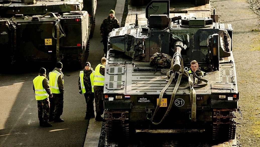 Страны НАТО договорились создать в Европе «военный Шенген»