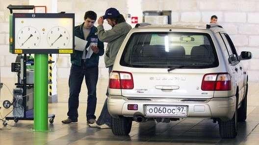 В России ужесточили требования к автомобилю при прохождении техосмотра