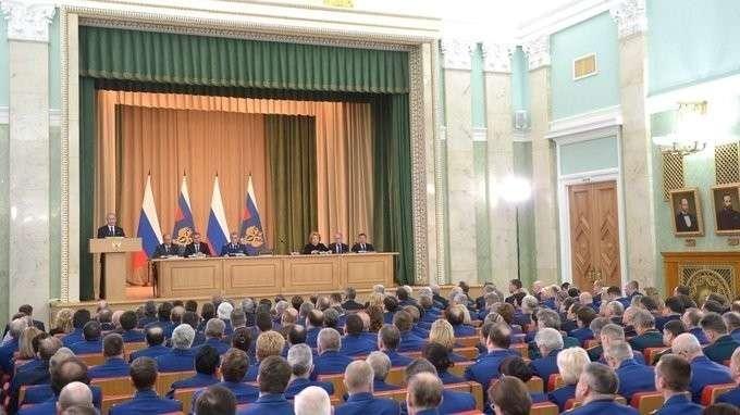 Выступление назаседании коллегии Генпрокуратуры России
