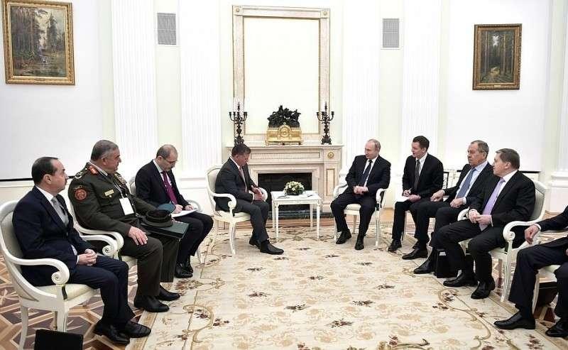 Встреча сКоролём Иордании Абдаллой II.