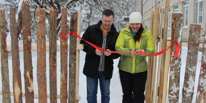 В Псковской области торжественно открыли забор из горбыля после 7 лет стройки
