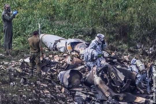Уничтожение F-16, атаковавшего Сирию, назвали знаком Израилю от России