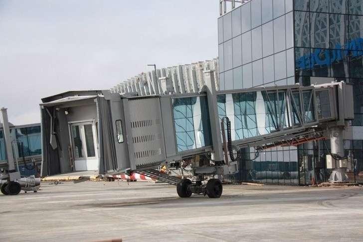 Вновом терминале аэропорта Симферополь начался монтаж телетрапов