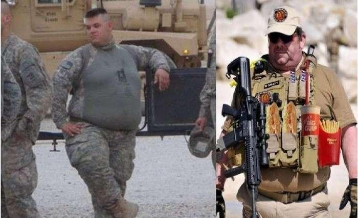 В армии США 14% личного состава не соответствуют требованиям боеготовности