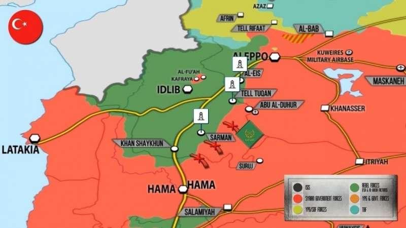 Сирия. Турция накачивает Африн своими войсками