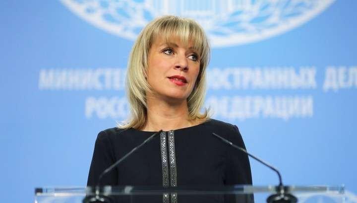 Мария Захарова назвала Петра Порошенко коммивояжером