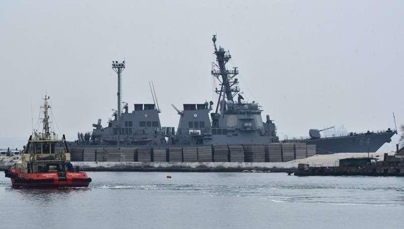 Под предлогом «повышение стабильности» в Черное море вошел еще один эсминец ВМС США