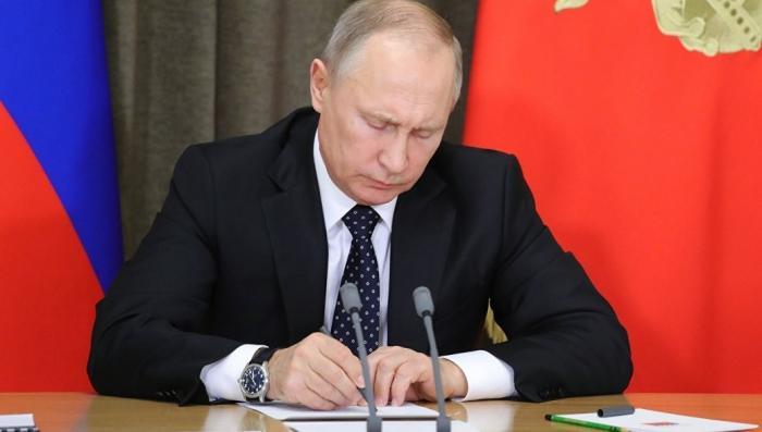Владимир Путин подписал пакет законов об амнистии капитала