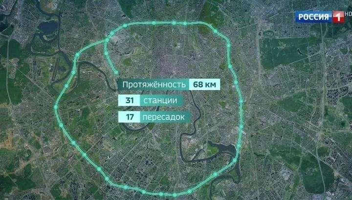 В Москве по первому участку Большого кольца метро уже пустили поезда