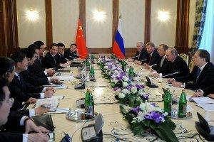 Встреча Владимира Путина с Председателем КНР Си Цзиньпином