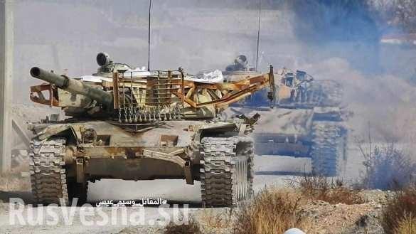 Сирия: Т-90, «Смерчи» и «Тигры» готовы к контратаке под Дамаском