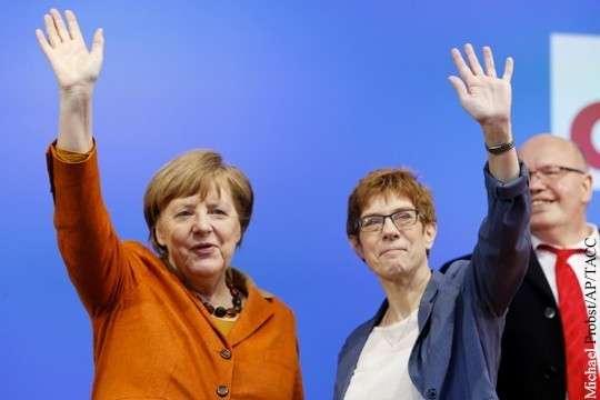 Раскол в Германии: русофобия грозит поставить точку в карьере Меркель