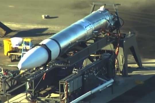 Сверхсекретная новейшая ракета США попала на видео
