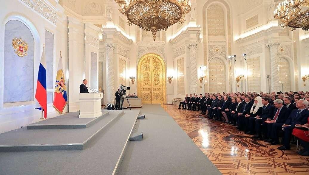 Владимир Владимир Путин выступит с посланием Федеральному собранию 1 марта