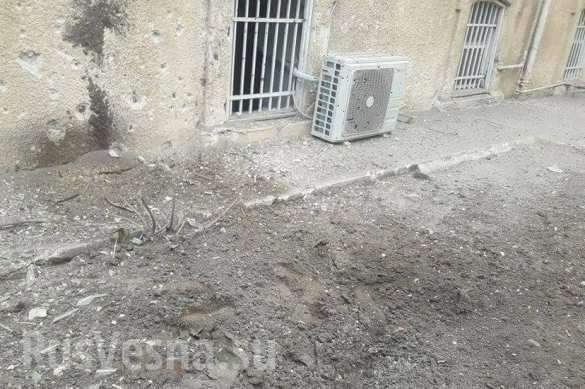 Американские наёмники атаковали Дамаск под огонь попал район дислокации российских военных | Русская весна