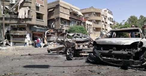 Американские наёмники атаковали Дамаск под огонь попал район дислокации российских военных