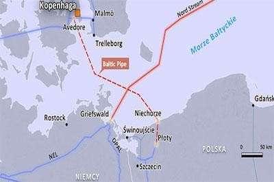 Данию поставят на газовый счетчик