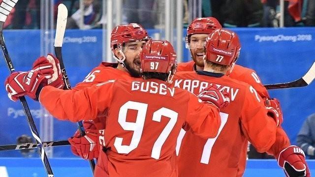 Хоккеисты России разгромили команду Норвегии и вышли в полуфинал