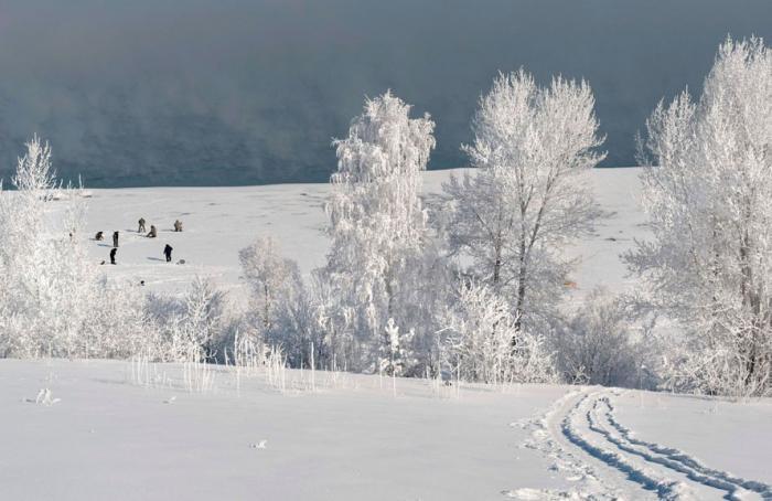 На Центральную Россию надвигаются сибирские морозы