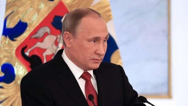 Из-за инфографики президент огласит Послание Федеральному Собранию не в Кремле