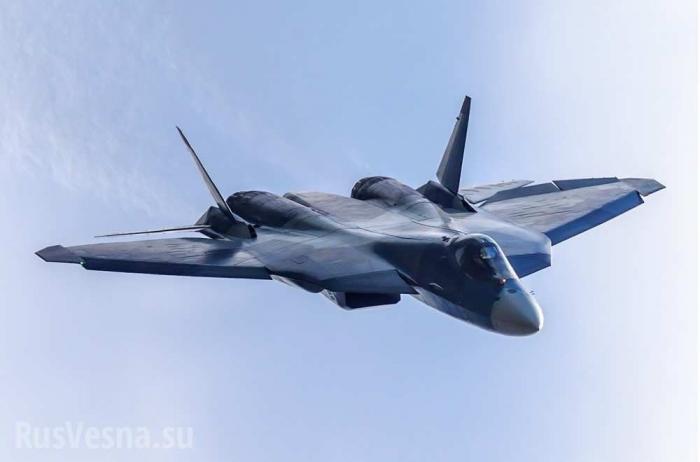 Сирия: новейшие истребители Т-50«ПАК ФА» впервые прилетели в Хмеймим
