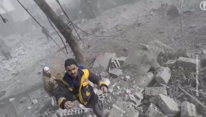 Артисты-провокаторы «Белые каски» продолжают свои «гастроли» по Сирии