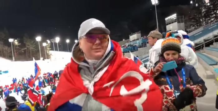 Вице-чемпионка Олимпиады Гладышева: «Я не уберу этот флаг. Это флаг моей величайшей нации»