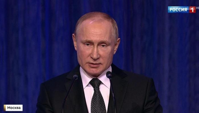 Поздравление Владимира Путин с днём защитников Отечества