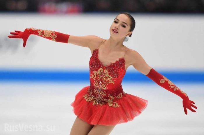 Фигуристка Загитова принесла России первое золото на Олимпиаде!