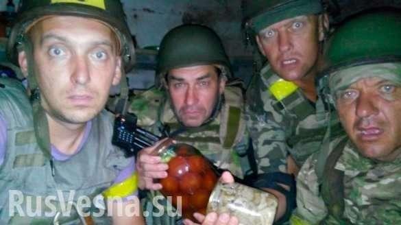 Чем кормят солдат на Украине и в России? | Русская весна