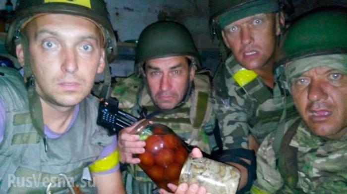 Чем кормят солдат на Украине и в России?