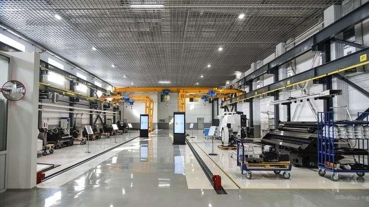 Новое станкостроительное производство запущено вПерми