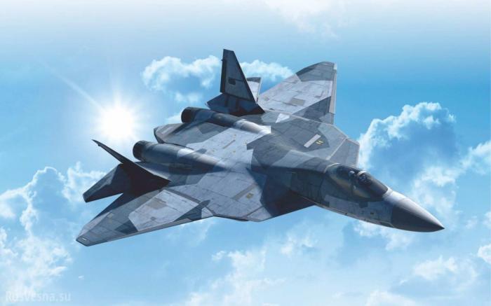 Сирия: ещё 2 русских новейших истребителя Т-50 переброшены в Хмеймим