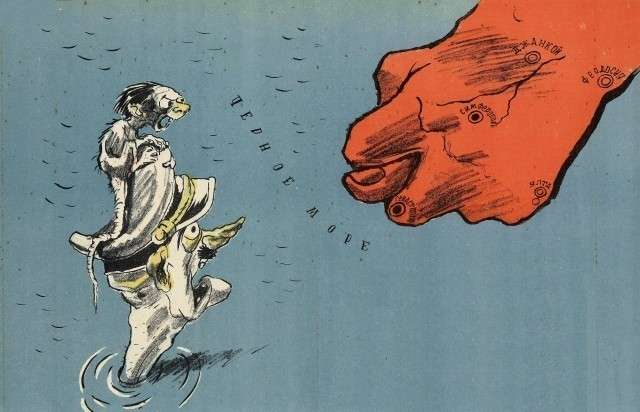 Советский плакат «Виды на Крым»