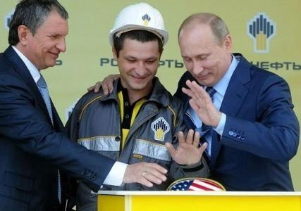 Роснефть уверенно шагает по планете и санкции ей не помеха
